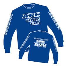 ARC Blue Long Sleeve Shirt L